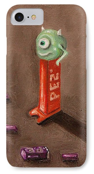 Monster Pez Phone Case by Leah Saulnier The Painting Maniac