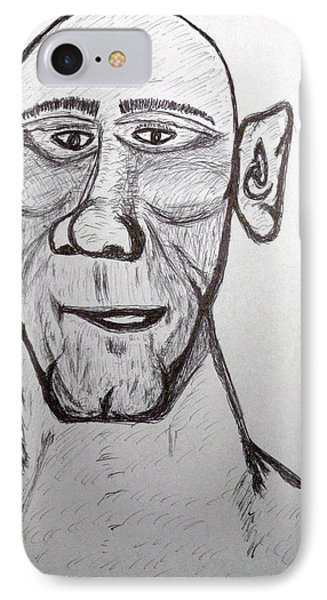 Monster Tom And His Radar Ears Phone Case by Robert Margetts