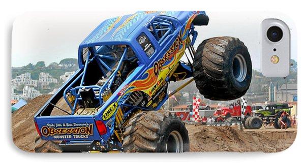 Monster Trucks - Big Things Go Boom Phone Case by Christine Till