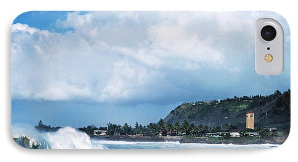 Monster Wave Waimea Bay Phone Case by Thomas R Fletcher