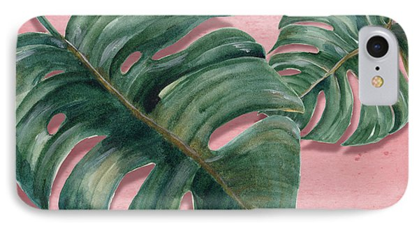 Monstera Leaf  IPhone Case by Mark Ashkenazi