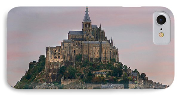 Mont Saint Michel IPhone Case by Diana Haronis