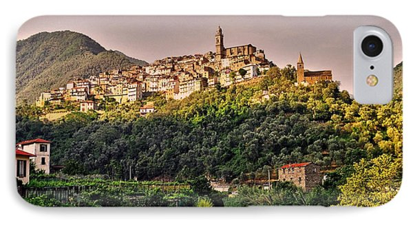 Montalto Ligure - Italy IPhone Case by Juergen Weiss