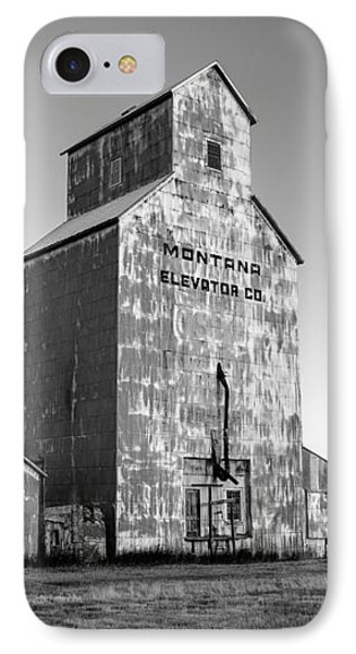 Montana Elevator Company IPhone Case by Todd Klassy