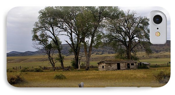 Montana Homestead Phone Case by Marty Koch