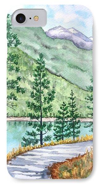 Montana - Lake Como Series IPhone Case