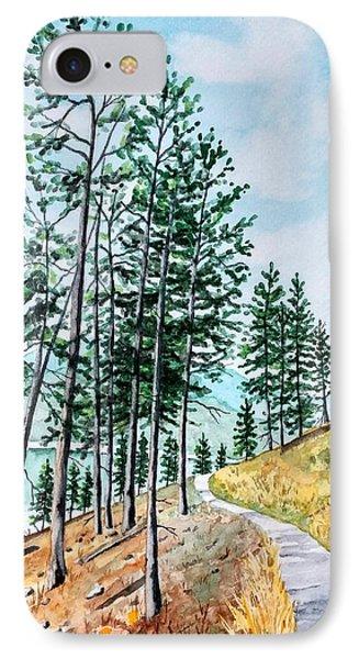 Montana Lake Como Trail IPhone Case