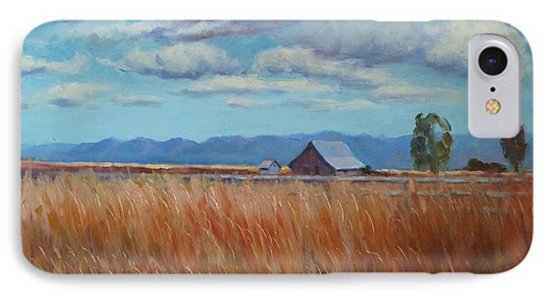 Montana Prairie In The Fall IPhone Case