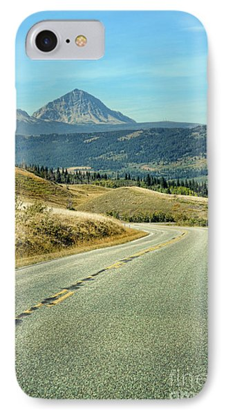 IPhone Case featuring the photograph Montana Road by Jill Battaglia