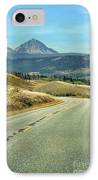 Montana Road IPhone Case by Jill Battaglia