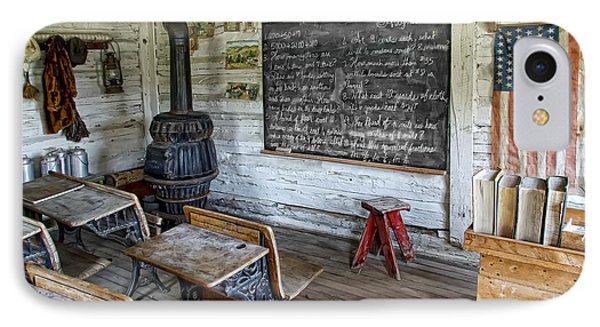 Montana School Lesson August 29 1864 Phone Case by Daniel Hagerman