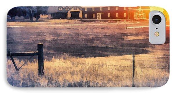 Montana Sunrise IPhone Case by Edward Fielding