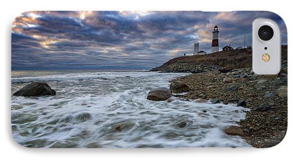Montauk Morning IPhone Case by Rick Berk