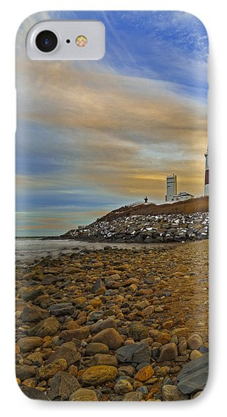 Montauk Point Lighthouse IPhone Case by Susan Candelario