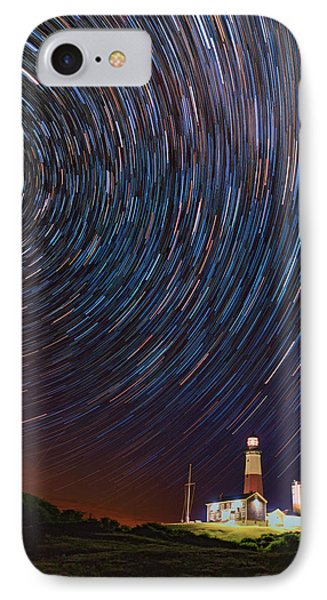 Montauk Star Trails IPhone Case