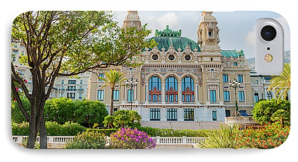 Monte Carlo Casino IPhone Case by Elena Elisseeva