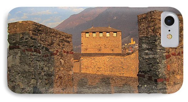 Montebello - Bellinzona, Switzerland IPhone Case by Travel Pics