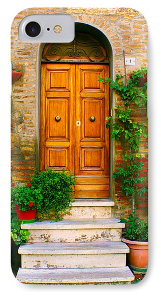 Montepulciano No. 1 IPhone Case by Rob Tullis