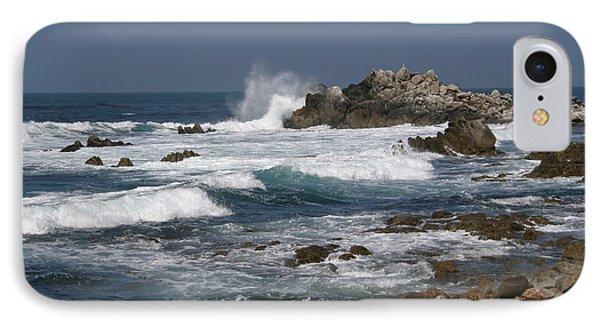 Monterey Coastline IPhone Case by Bev Conover