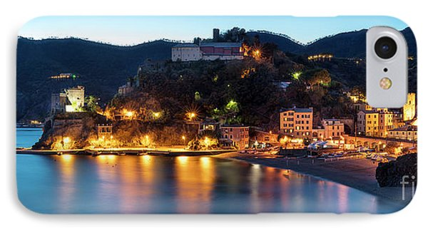 IPhone Case featuring the photograph Monterosso Al Mare At Twilight by Brian Jannsen