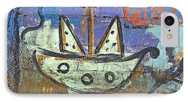Montevideo Mural No. 80a-1 IPhone 7 Case
