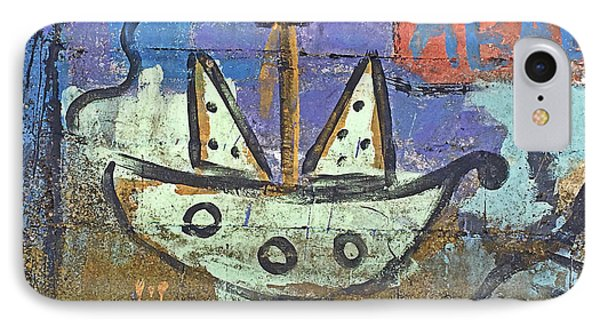 Montevideo Mural No. 80a-1 IPhone Case by Sandy Taylor