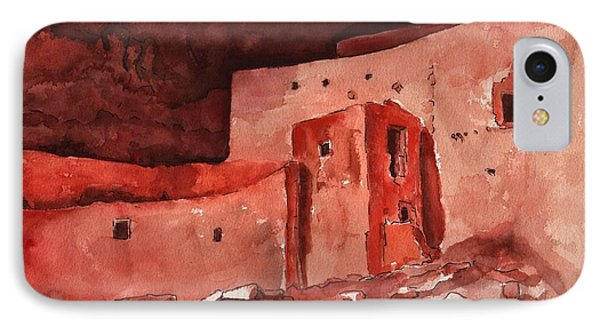 Montezuma's Castle IPhone Case by Sharon Mick