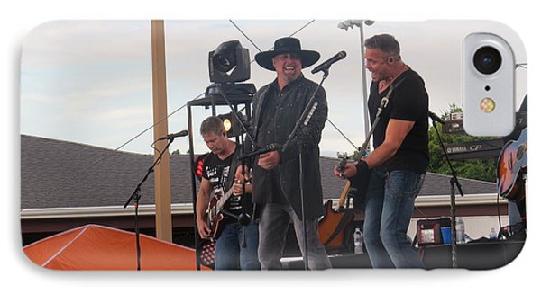 IPhone Case featuring the photograph Montgomery Gentry by Aaron Martens