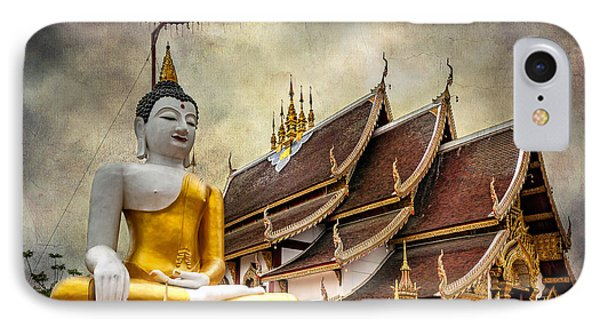 Monthian Temple Buddha IPhone Case by Adrian Evans