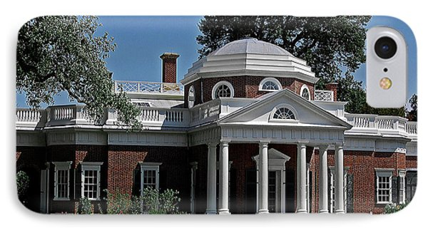 Monticello Phone Case by DigiArt Diaries by Vicky B Fuller