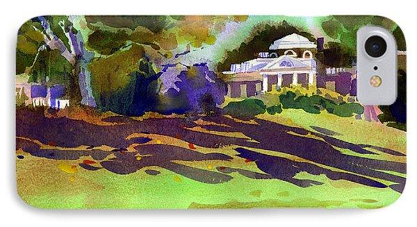 Monticello In October Phone Case by Lee Klingenberg