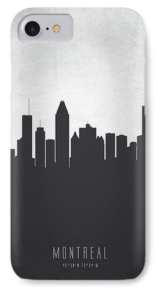 Montreal Quebec Cityscape 19 IPhone Case