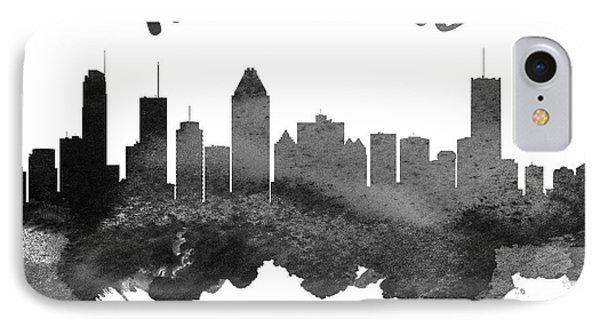 Montreal Quebec Skyline 18 IPhone Case