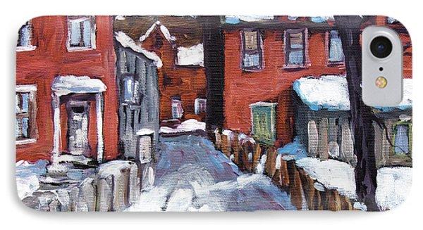 Montreal Scene 02 By Prankearts Phone Case by Richard T Pranke
