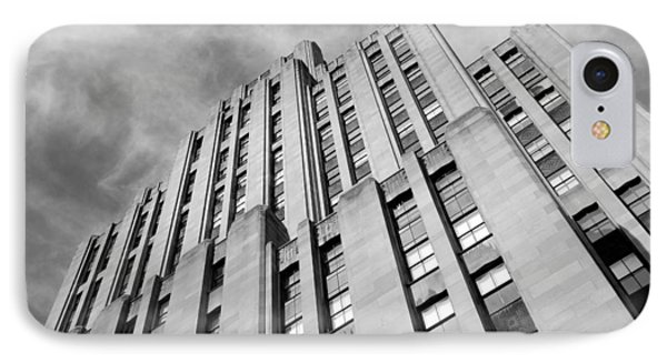 IPhone Case featuring the photograph Montreal Skyscraper by Valentino Visentini
