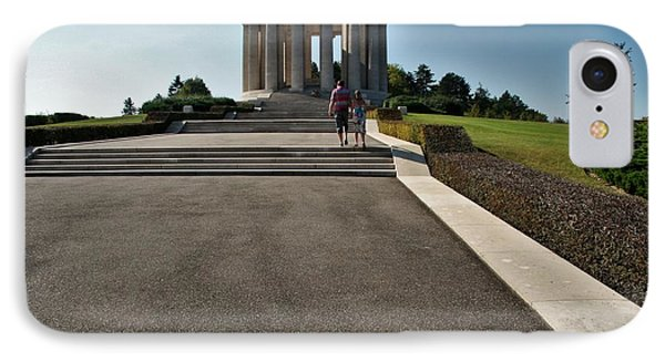 IPhone 7 Case featuring the photograph Montsec American Monument by Travel Pics