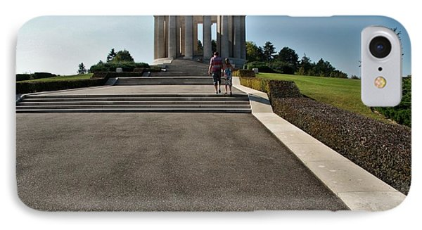 Montsec American Monument IPhone Case by Travel Pics
