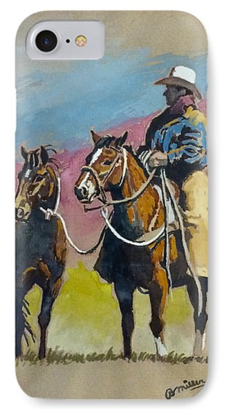 Monty Roberts IPhone Case