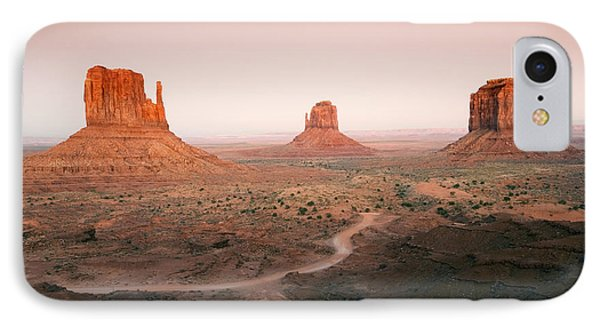 Monument Dusk IPhone Case by Mike  Dawson