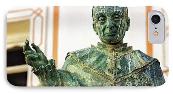 IPhone Case featuring the photograph Monument To Fray Domingo De Silos Morenos Cadiz Spain by Pablo Avanzini