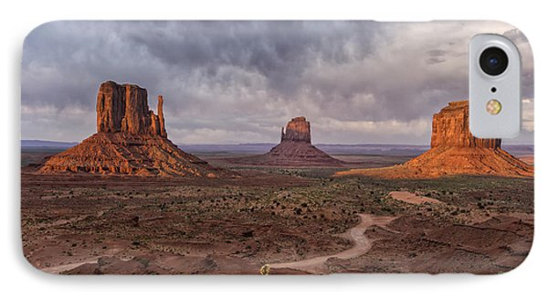 Monument Valley Mittens Az Dsc03662 IPhone Case by Greg Kluempers