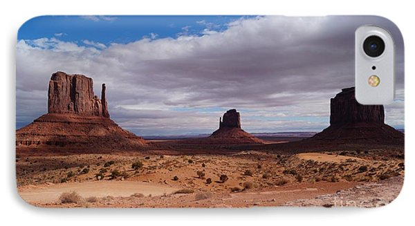Monument Valley National Park IPhone Case by Timea Mazug