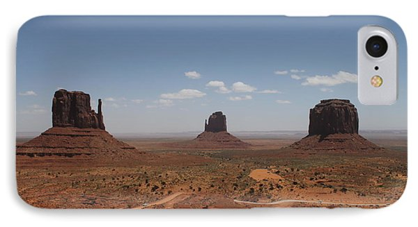 IPhone Case featuring the photograph Monument Valley Navajo Park by Christopher Kirby