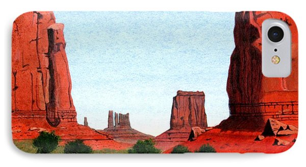 Monument Valley North Window IPhone Case