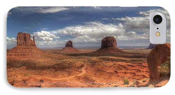 IPhone Case featuring the photograph Monument Valley View by Donna Kennedy