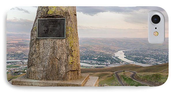 Monumental View IPhone Case by Brad Stinson