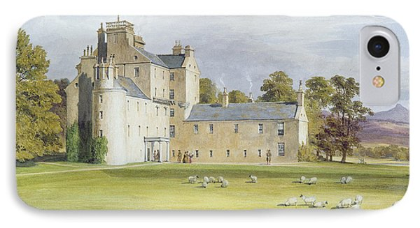 Monymusk House IPhone Case by James Giles