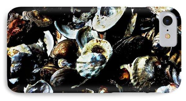 Mood Indigo Seashells IPhone Case