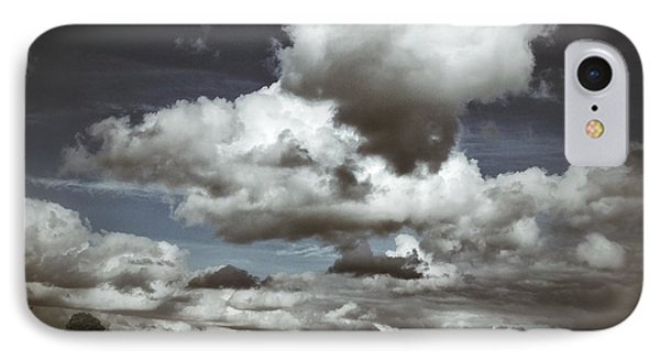 IPhone Case featuring the photograph Moodiness In The Clouds by Karen Stahlros