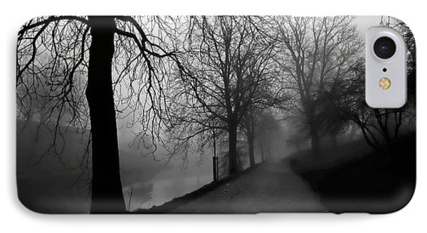 Moody And Misty Morning IPhone Case by Inge Riis McDonald